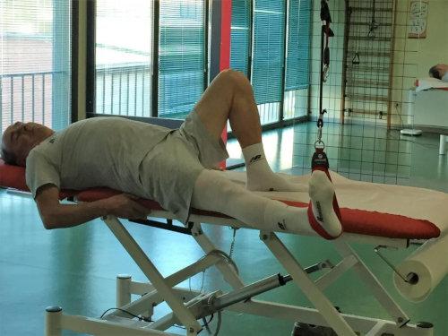 Esercizio rinforzo muscolare isotonico