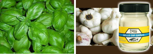 basilico e aglio