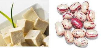 Tofu e fagioli