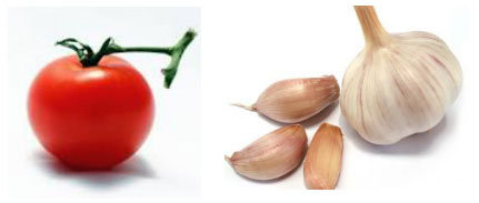 pomodoro e aglio