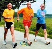 Attività sportiva anziani