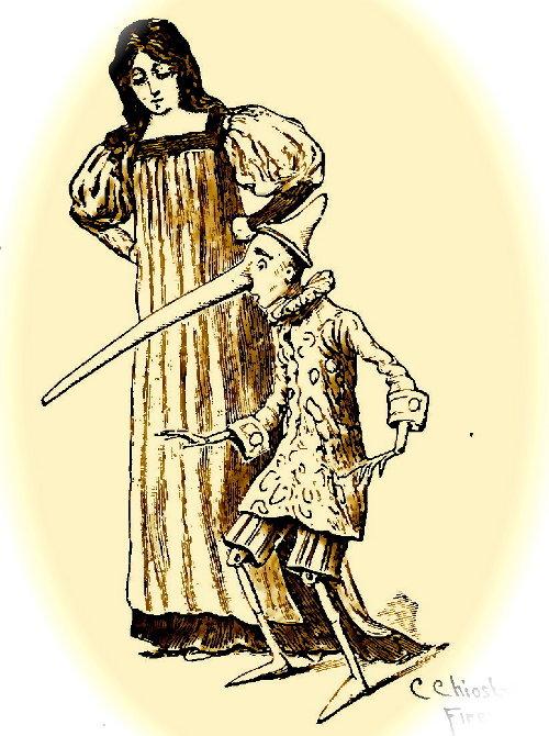 Pinocchio Fata Turchina