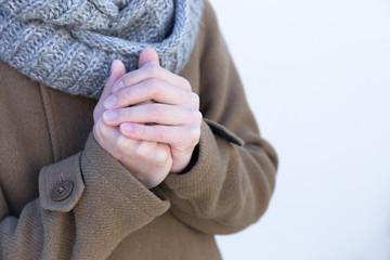 Mani fredde screpolate