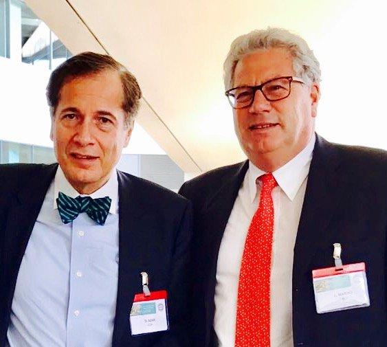 Prof. Luigi Marino e Prof.Dimitri Azar (Università di Chicago)