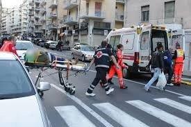 Equipe medica sul luogo dell'incidente