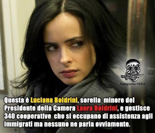 Fake news Boldrini