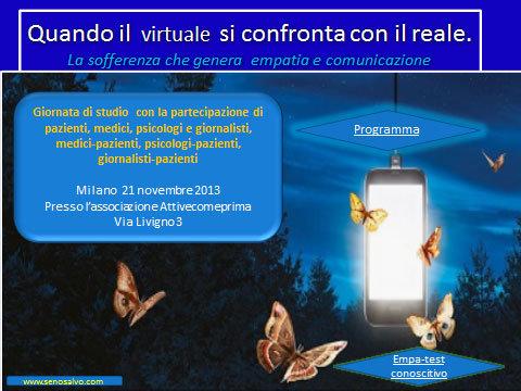Virtuale si confronta con il reale