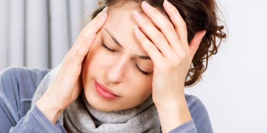 Cefalea più frequente nel sesso femminile.