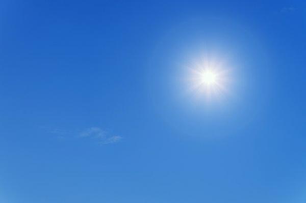 Il sole e i suoi raggi