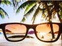 Si possono comprare gli occhiali da sole in spiaggia?